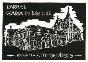 Stoppenberg Kirche Maria in der Not Kuenstlerkarte Kat. Essen