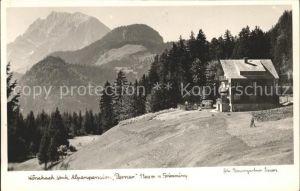 Woerschach Alpenpension Perner Grimming Dachsteingebirge Kat. Woerschach