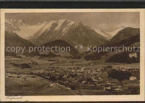 Trofaiach Gesamtansicht mit Alpenpanorama Kat. Trofaiach