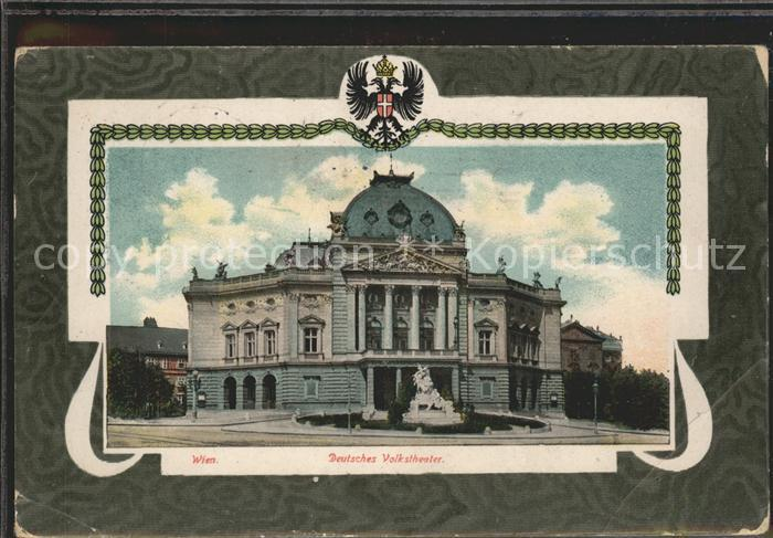 Wien Deutsches Volkstheater Kat. Wien