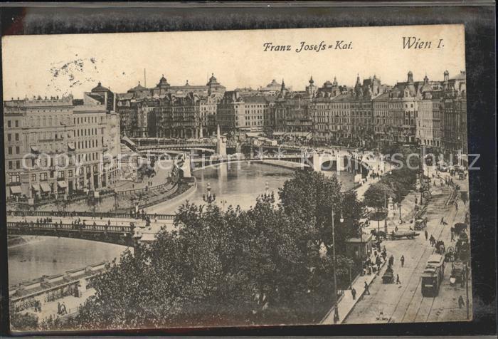 Wien Franz Josefs Kai Kat. Wien
