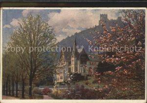 Baden Wien Villa Erzherzog Eugen Helenental Kat. Baden
