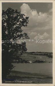 Seeham Panorama am Mattsee Kat. Seeham