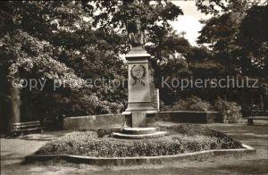 41556763 Eutin Rosenstadt Carl-Maria-von-Weber-Denkmal Eutin Eutin