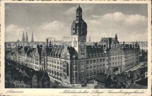 Bremen Norddeutscher Lloyd (Verwaltungsgebaeude) Kat. Bremen