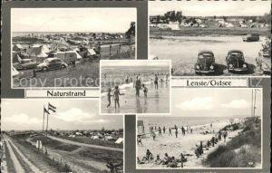 Lenste Holstein Strand Camping Autos / Groemitz /Ostholstein LKR