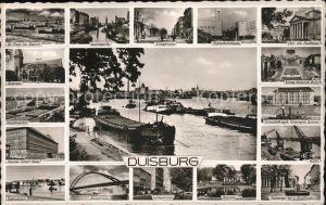 Duisburg Ruhr Hafen Koenigstrasse Tausendfensterhaus Bahnhof / Duisburg /Duisburg Stadtkreis