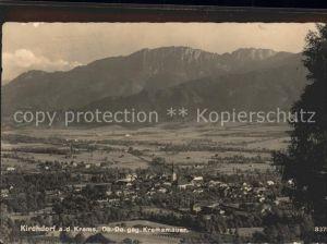 Kirchdorf Krems Panorama gegen Kremsmauer Kat. Kirchdorf an der Krems