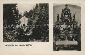 Neufelden Kapelle Maria Poetsch Kat. Neufelden