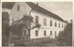 Ansfelden Anton Bruckners Geburtshaus Komponist Kat. Ansfelden