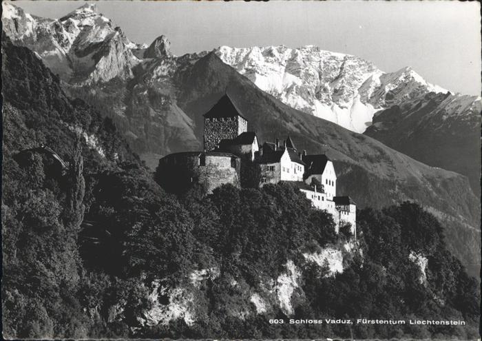 Vaduz Schloss Vaduz Kat. Vaduz
