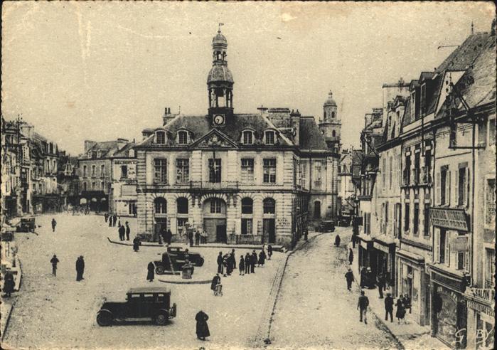 Auray Place de la Mairie Kat. Auray
