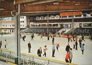 Schlittschuhlaufen Eislaufen Kunsteisstadion Oberstdorf-Allgaeu / Sport /