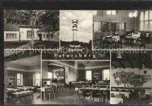 Funkturm Fernseh-Gaststaette Petersberg  / Bruecken /