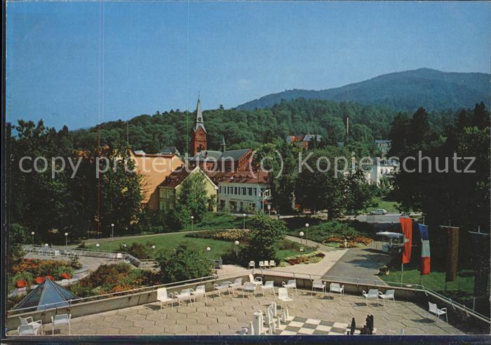 Schach Badenweiler Thermalbad  / Spiel /