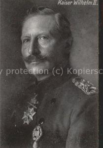 Wilhelm II Kaiser Uniform / Persoenlichkeiten /