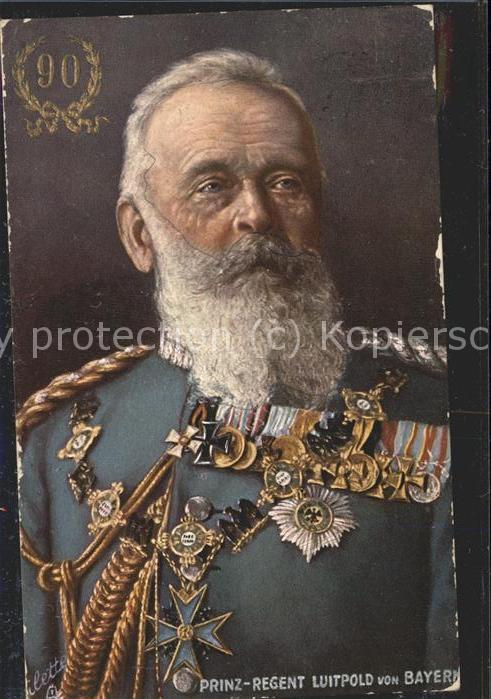 Adel Bayern Prinz-Regent Luitpold v. Bayern Uniform  / Koenigshaeuser /