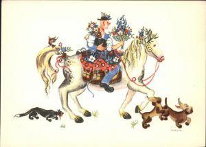 Tiere Pferd Hund Katze Vogel Blumen Liebespaar / Tiere /