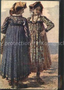Trachten Jugolslavische Volkskleidung Frauen / Trachten /
