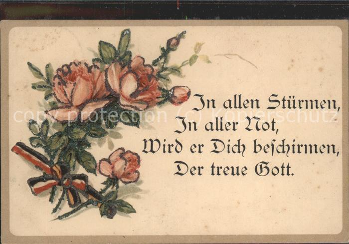 Religion In allen Stuermen in aller Not der treue Gott / Religion /