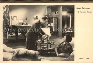 Schauspieler Magda Schneider Herman Thimig City Film 398 / Kino und Film /