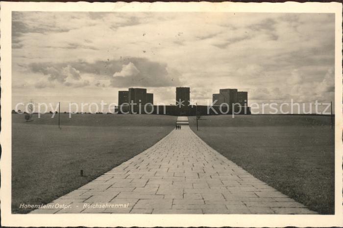 Denkmal Reichsehrenmal Hohenstein Ostpr. / Denkmaeler /
