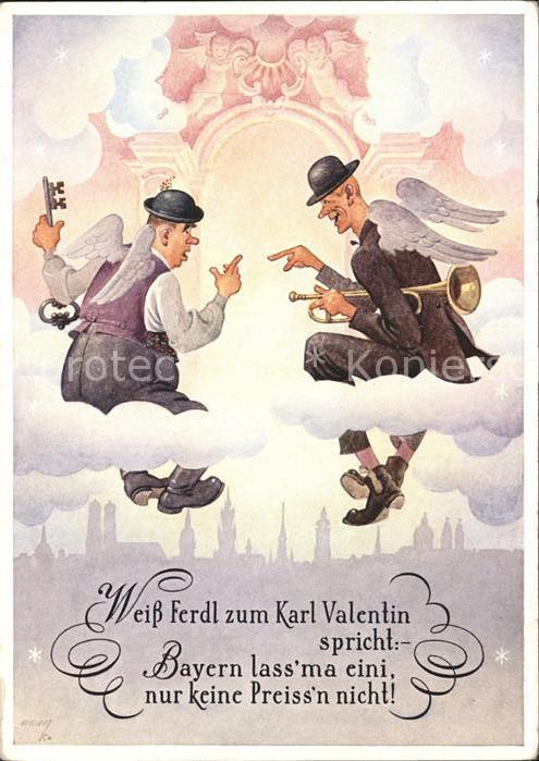 Humor Trompete Engel Himmel Spruch / Humor /