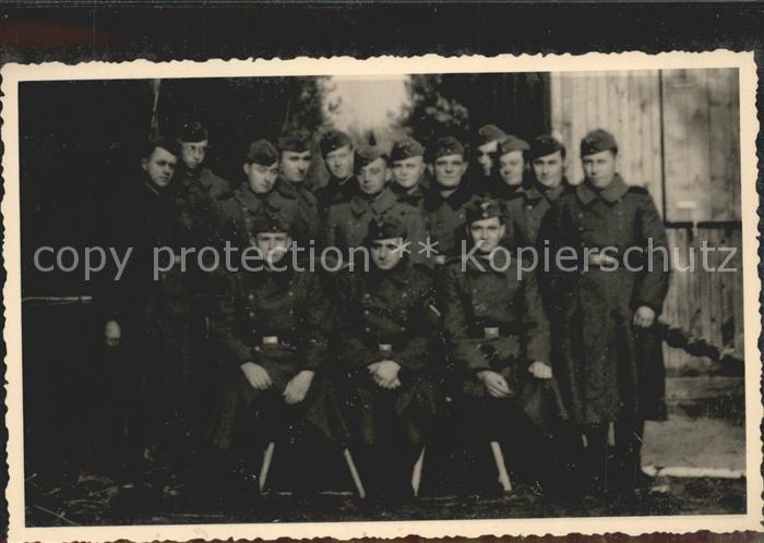 Soldatengruppenfoto Foto Musiker / Militaria /