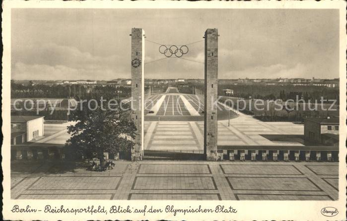 Olympia Reichssportfeld Berlin  Kat. Sport