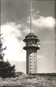 Funkturm Feldberg Fernseh Sendeturm  Kat. Bruecken