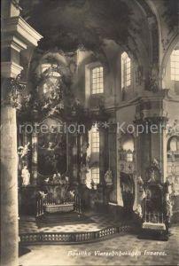 Bad Staffelstein Basilika Vierzehnheiligen Inneres Kat. Bad Staffelstein
