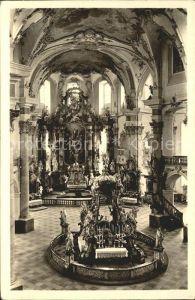 Vierzehnheiligen Inneres Basilika Kat. Bad Staffelstein