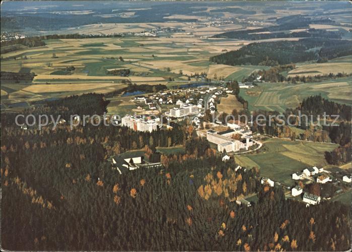 Bad Alexandersbad Fliegeraufnahme Fichtelgebirge Kat. Bad Alexandersbad