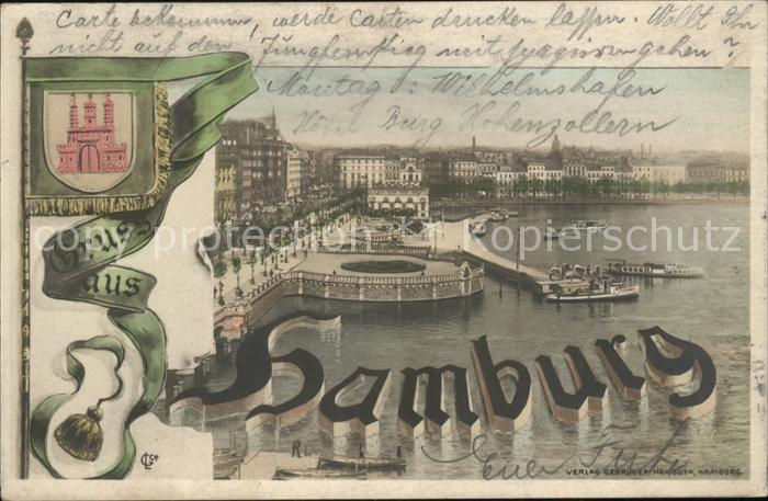 Hamburg Wappen Kat. Hamburg