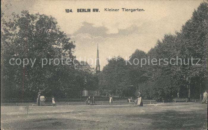 Berlin Kleiner Tiergarten Kat. Berlin