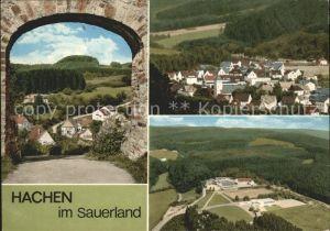 Hachen Sauerland Ansichten Kat. Sundern (Sauerland)