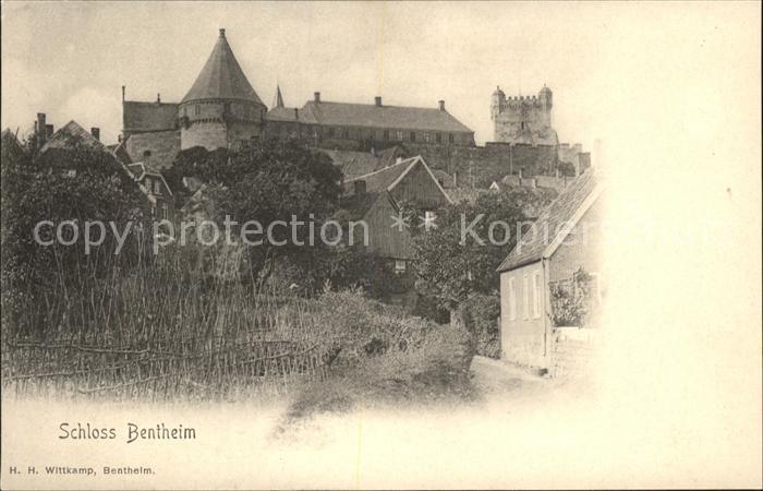 Bad Bentheim Schloss Bentheim Kat. Bad Bentheim