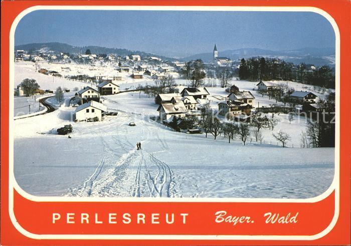 Perlesreut Winter Panorama Kat. Perlesreut