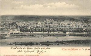 Trier Panorama vom Bellevue aus Kat. Trier
