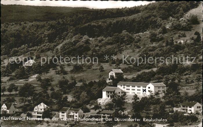 Nassau Lahn Schullandheim der Duesseldorfer Realschulen / Nassau /Rhein-Lahn-Kreis LKR