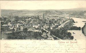 Koblenz Rhein Rhein Panorama Kat. Koblenz