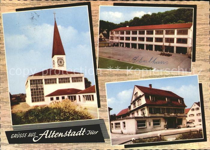 Altenstadt Iller Ansichten Kirche Kat. Altenstadt