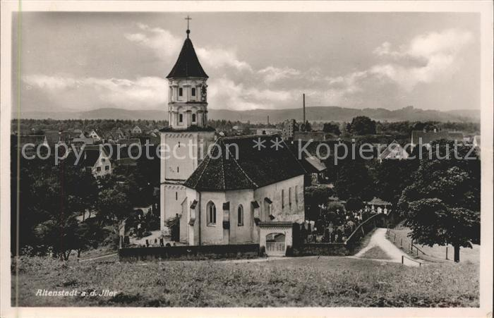 Altenstadt Iller Kirche Kat. Altenstadt