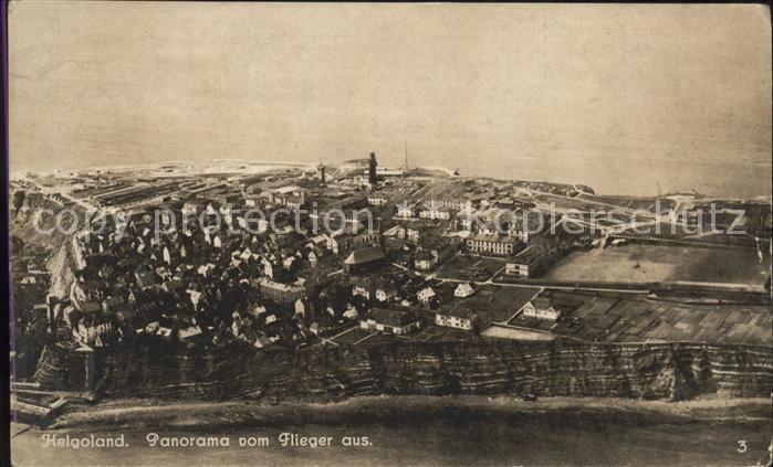 Helgoland Panorama Fliegeraufnahme / Helgoland /Pinneberg LKR