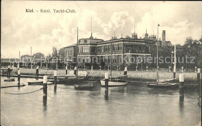 Kiel Kaiserl Yacht Club Kat. Kiel