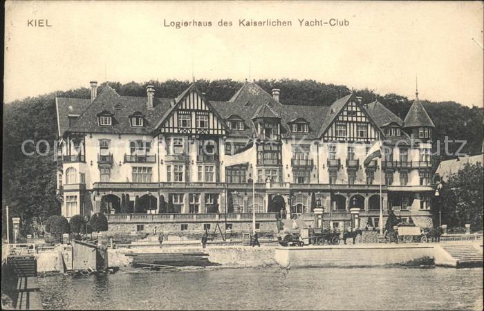 Kiel Logierhaus des Kaiserl Yacht Club Kat. Kiel