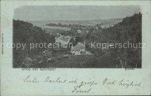 Goettingen Langenau Panorama Kat. Langenau