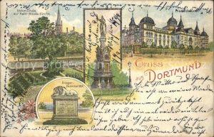 Dortmund Kriegerdenkmal Petri Nicolai Kirche  Kat. Dortmund