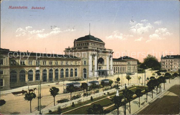 Mannheim Bahnhof Kat. Mannheim