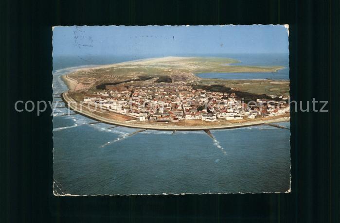 Norderney Nordseebad Luftaufnahme Kat. Norderney